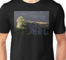 Tree, Sun and Stone. Lake District. Unisex T-Shirt