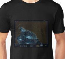 USGS TOPO Map Hawaii HI Hawaii North 349918 1954 250000 Inverted Unisex T-Shirt
