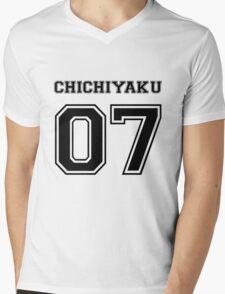 Spirited Away - Chichiyaku Varsity Mens V-Neck T-Shirt