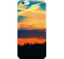 Sunset in the Country iPhone Case/Skin