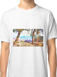 .Pastels Of The Desert Morning. Classic T-Shirt