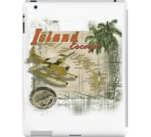 island hopper iPad Case/Skin
