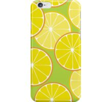 Lemon freshness iPhone Case/Skin