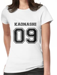 Spirited Away - No Face Varsity V2 - Kaonashi Womens Fitted T-Shirt