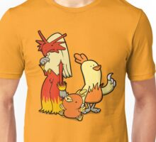 Blazing Chickens Unisex T-Shirt