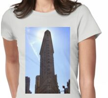 Flat Iron Building Womens Fitted T-Shirt