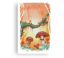 Pell and the Magic Forest Canvas Print