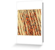 nature Pattern4 Greeting Card