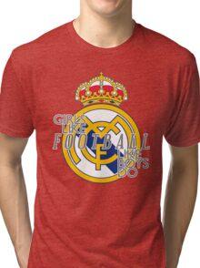 Girls like football like boys do Tri-blend T-Shirt