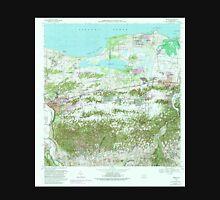 USGS TOPO Map Puerto Rico PR Manati 362148 1969 20000 Unisex T-Shirt