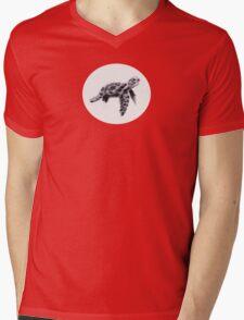 Sea Thumbtle Mens V-Neck T-Shirt