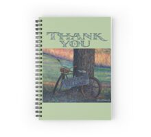 "Gratitude Journal-Thank You, ""Farmhouse Welcome Spiral Notebook"
