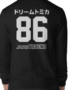 toyota AE86 Trueno Long Sleeve T-Shirt