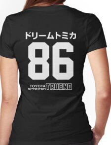 toyota AE86 Trueno Womens Fitted T-Shirt