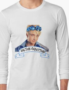 Dalton Rapattoni Flower Crown (American Idol) (IM5) (Fly Away Hero) Long Sleeve T-Shirt