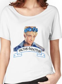 Dalton Rapattoni Flower Crown (American Idol) (IM5) (Fly Away Hero) Women's Relaxed Fit T-Shirt