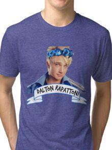 Dalton Rapattoni Flower Crown (American Idol) (IM5) (Fly Away Hero) Tri-blend T-Shirt