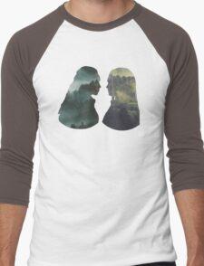 Clexa - The 100 - Forest Front Men's Baseball ¾ T-Shirt