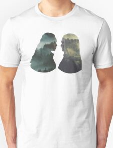 Clexa - The 100 - Forest Front Unisex T-Shirt