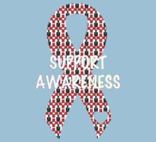 Awareness Ribbon One Piece - Short Sleeve