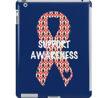 Awareness Ribbon iPad Case/Skin