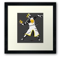 Holy grenade Framed Print