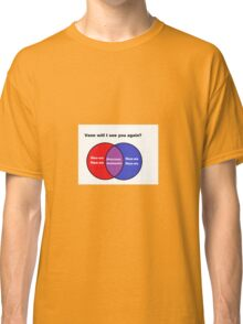 Venn Will I See You Again Classic T-Shirt