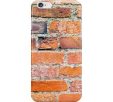 Old Weathered Brick Wall iPhone Case/Skin