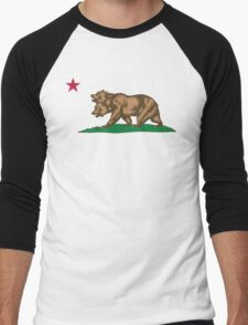 New California Republic Men's Baseball ¾ T-Shirt
