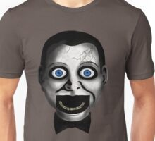 Scary Puppet Face Unisex T-Shirt