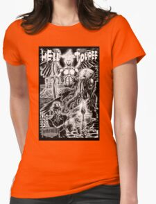 Hell Toupee Womens Fitted T-Shirt
