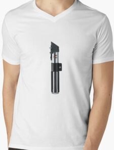 Star Wars Darth Vader Lightsaber Hilt Mens V-Neck T-Shirt