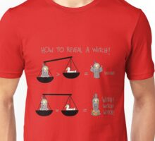 burn the wich Unisex T-Shirt