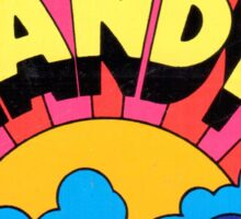 Vintage Tandy Electro decal Sticker