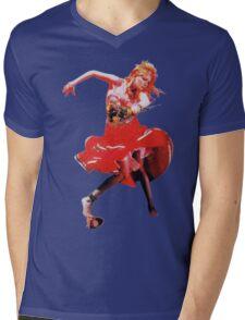 She's So Unusual by Cyndi Lauper Mens V-Neck T-Shirt