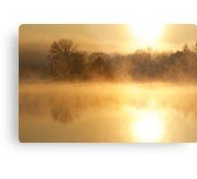 Brush Creek Spring Sunrise Metal Print