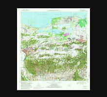 USGS TOPO Map Puerto Rico PR Manati 362149 1969 20000 Unisex T-Shirt