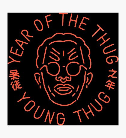 Year Of The Thug (Orange) Photographic Print