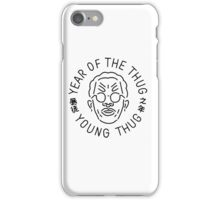 Year Of The Thug (black) iPhone Case/Skin