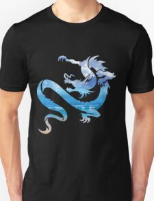 Ocean Sky Dragon Blend Unisex T-Shirt