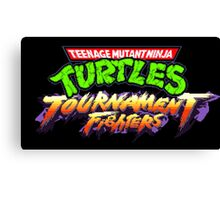 TMNT: Tournament Fighters (SNES Title Screen) Canvas Print
