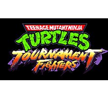 TMNT: Tournament Fighters (SNES Title Screen) Photographic Print