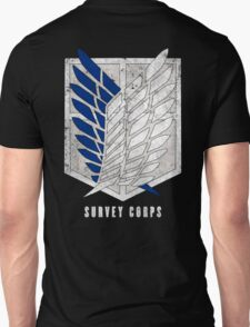 Attack on titan - Survey corps (dirty style) - back or front T-Shirt