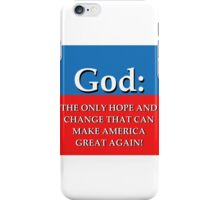True Hope And Change iPhone Case/Skin