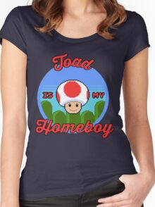 Toad is my Homeboy Women's Fitted Scoop T-Shirt