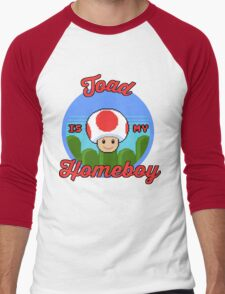 Toad is my Homeboy Men's Baseball ¾ T-Shirt