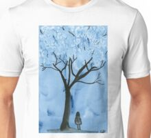 A blue forest - Watercolor painting Unisex T-Shirt