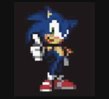 Sonic The Hedgehog Sprite One Piece - Long Sleeve