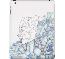 Abstracted Female Portrait iPad Case/Skin