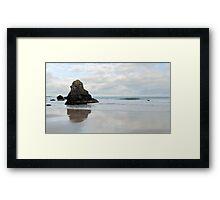 Sea Stack on Sango Beach Framed Print